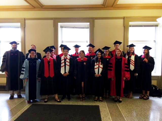 2018 Religious Studies Graduates